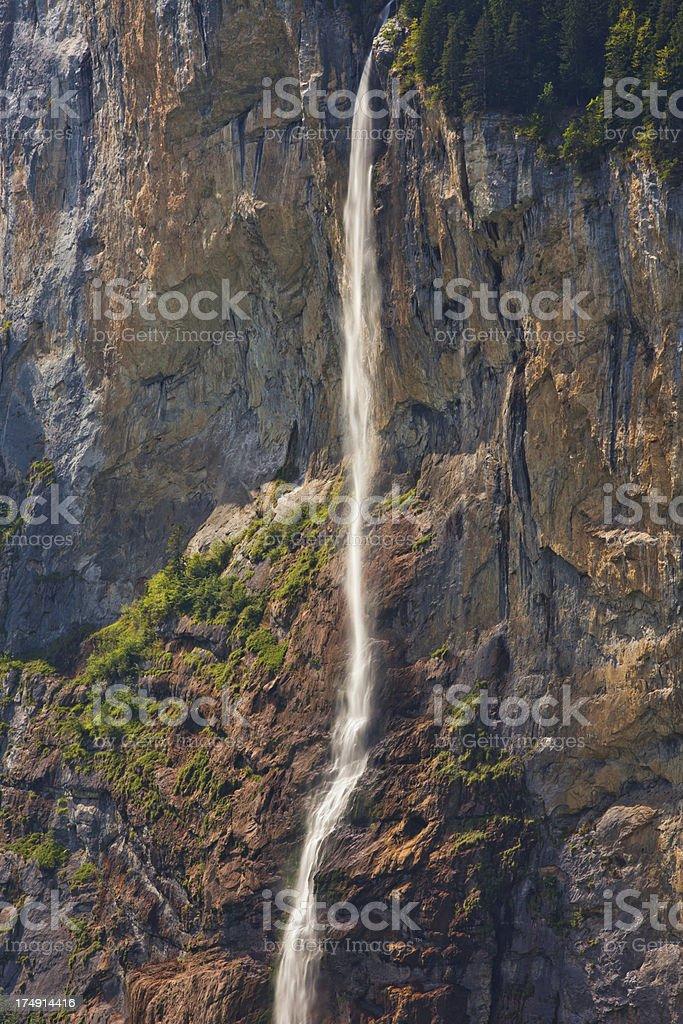 Staubbach falls stock photo