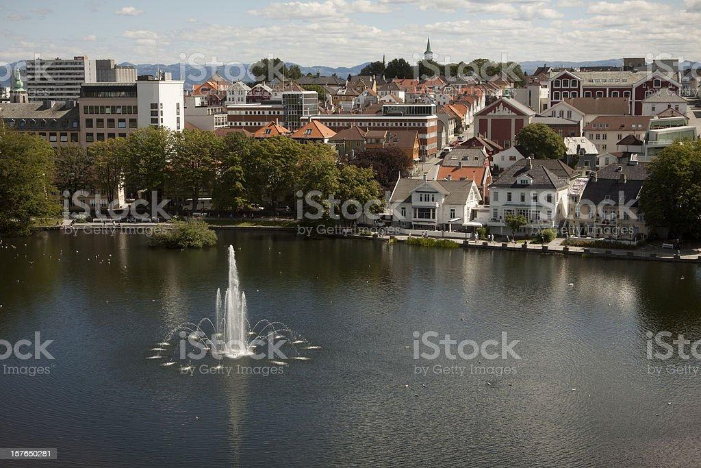 Stavanger, Norway stock photo