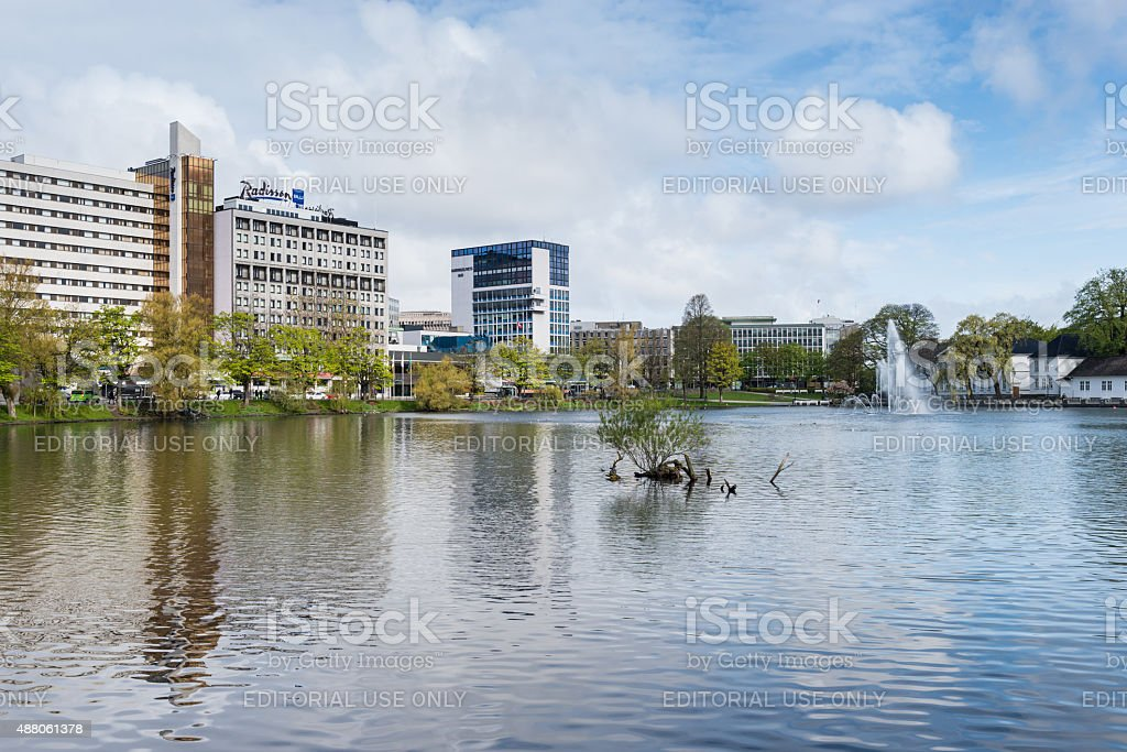 Stavanger - Norway stock photo