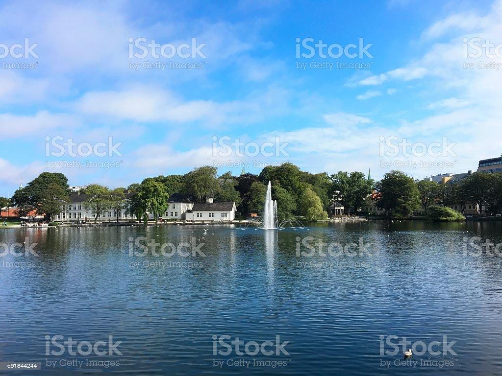 Stavanger, la Norvège. photo libre de droits