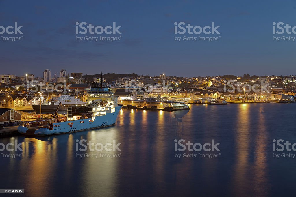 Stavanger royalty-free stock photo