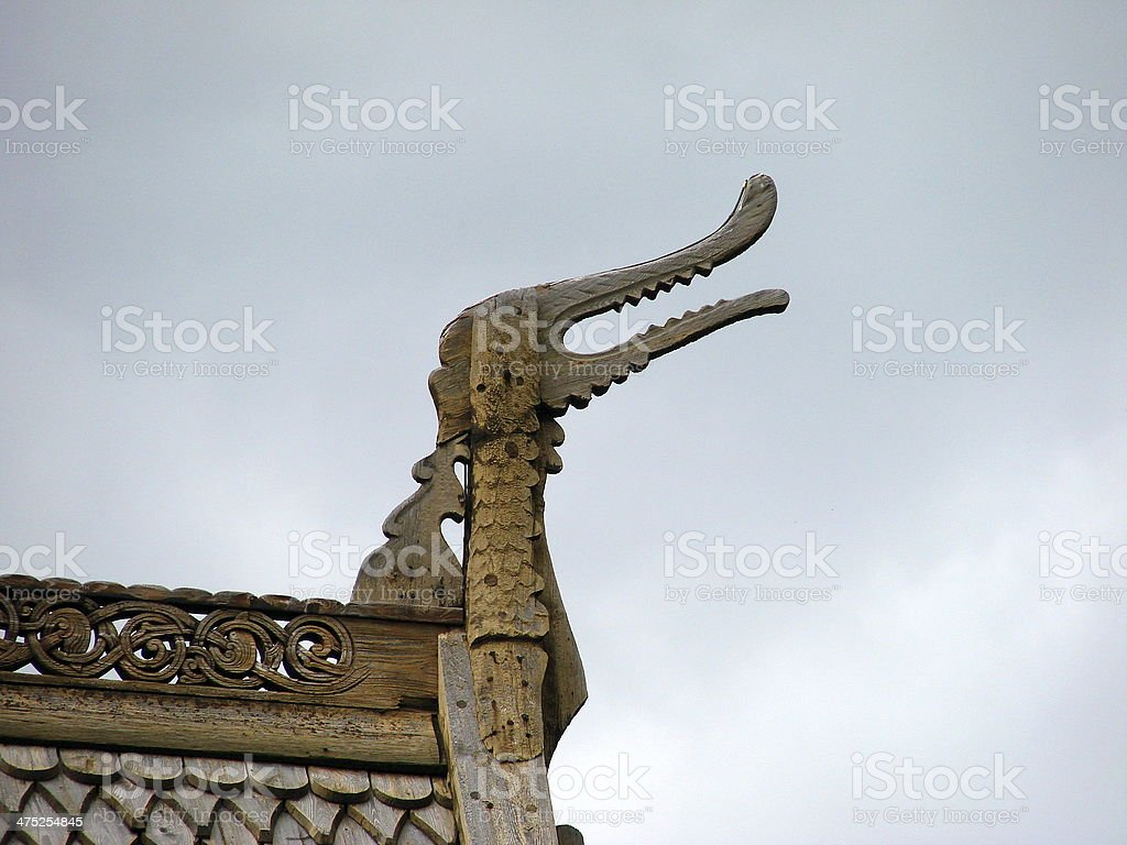 Stave church foto royalty-free