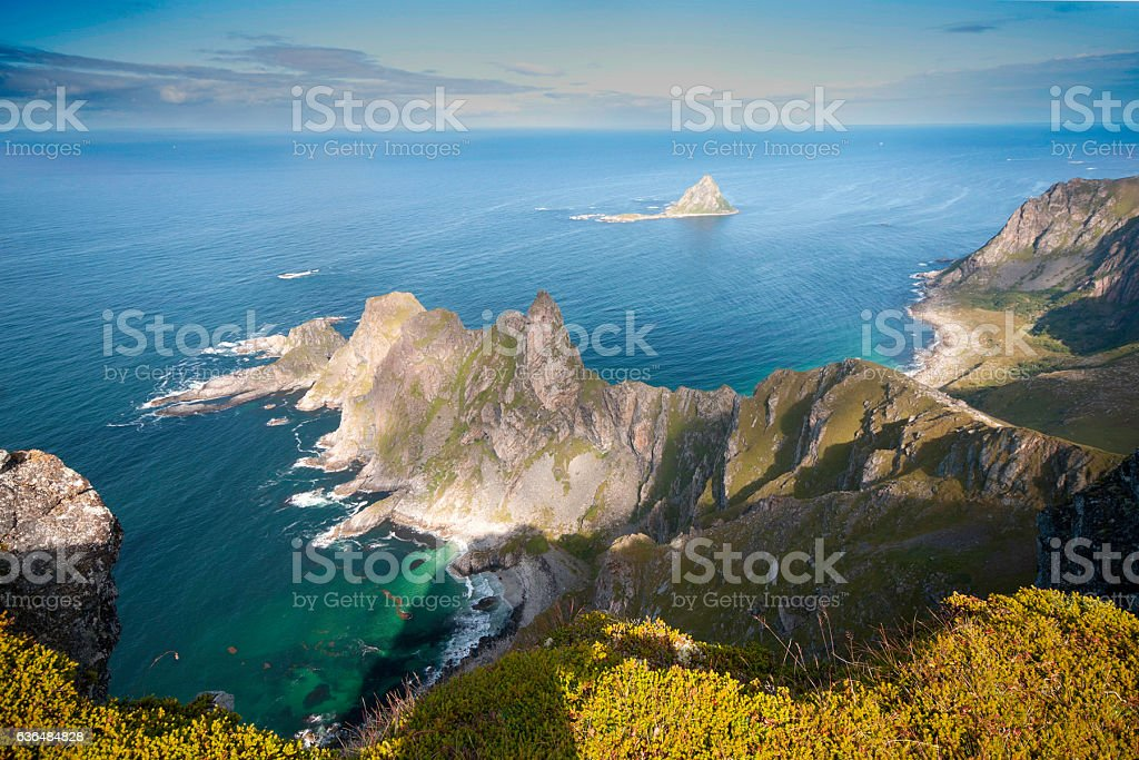 Stave Costal View stock photo