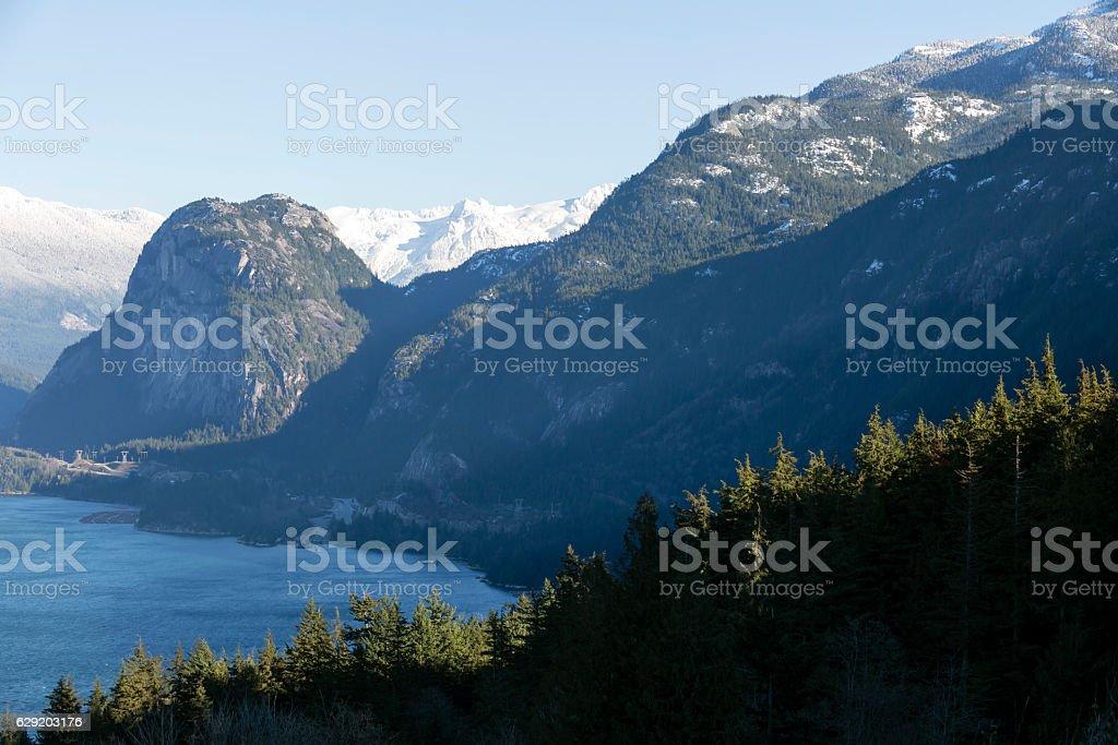 Stawamus Chief Provincial Park Squamish stock photo