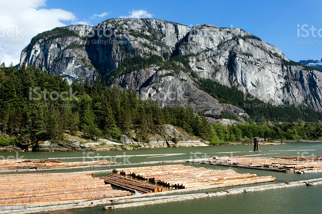 Stawamus Chief Squamish stock photo