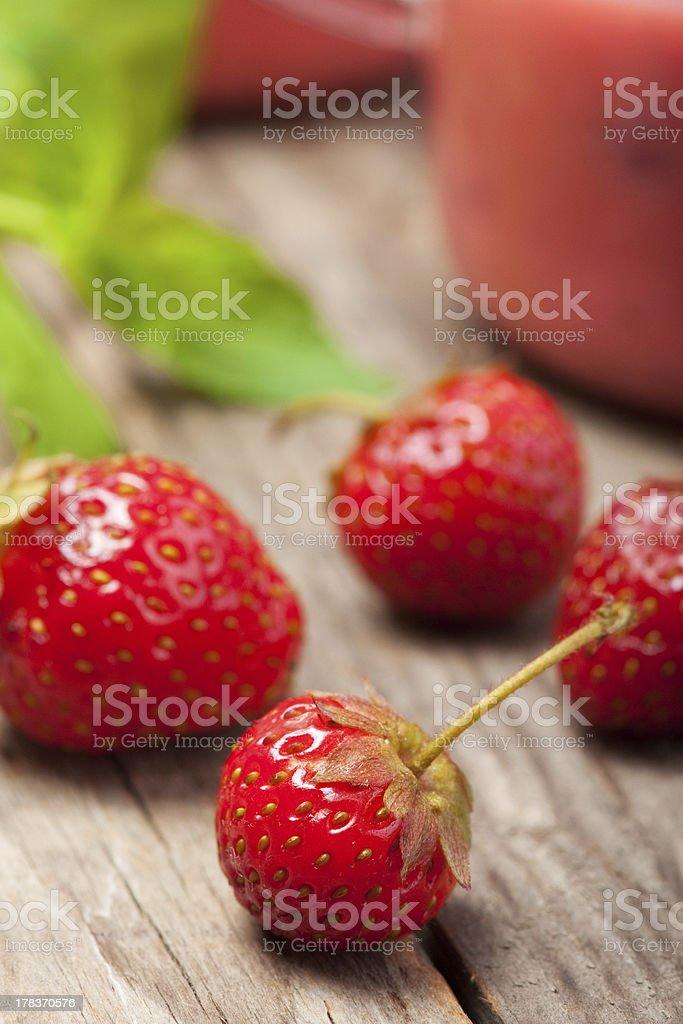 Stawberries foto royalty-free