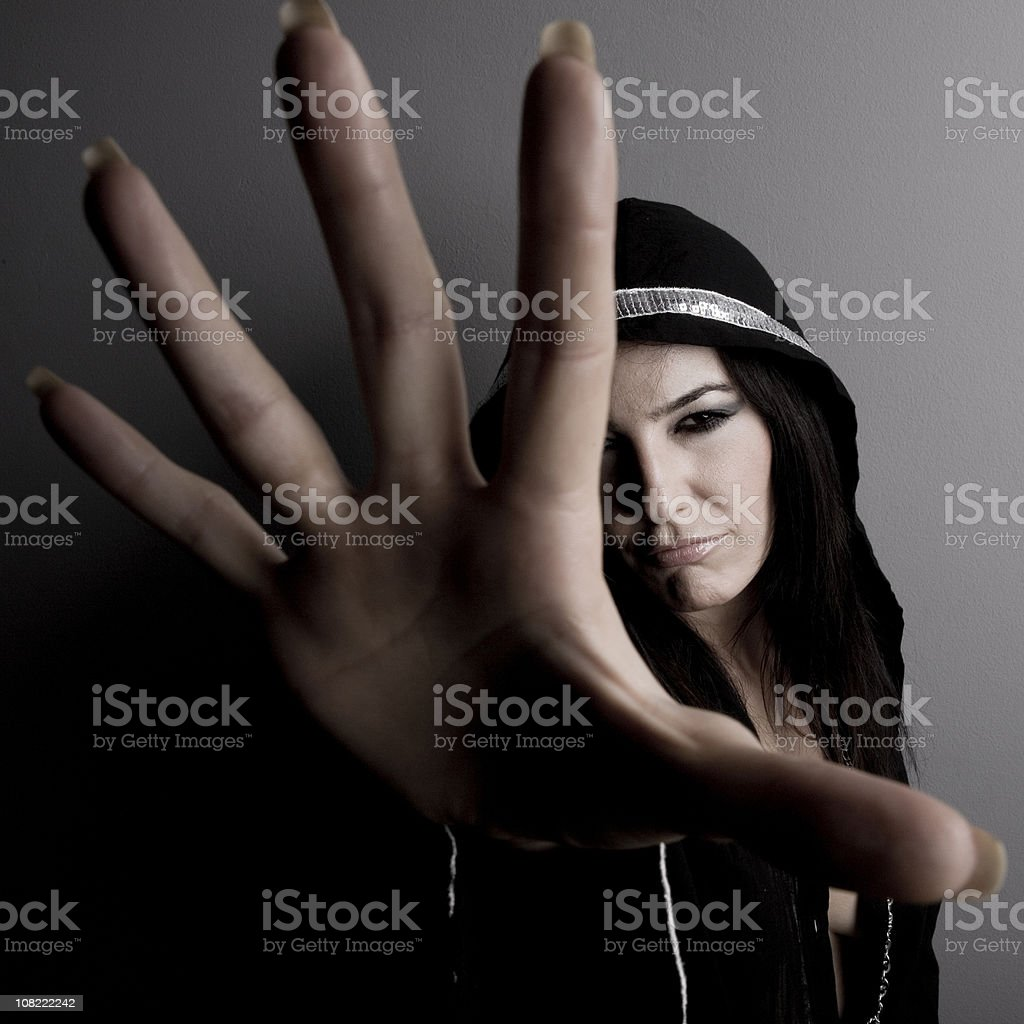 Stay away royalty-free stock photo