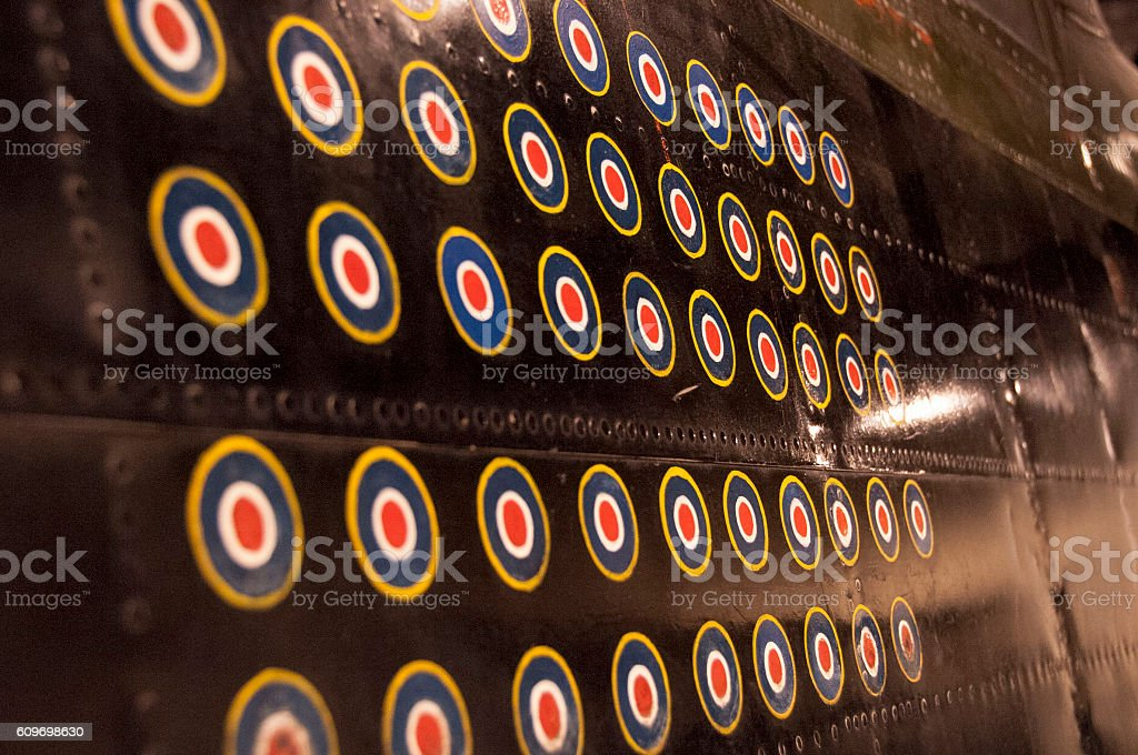 Stay on target stock photo