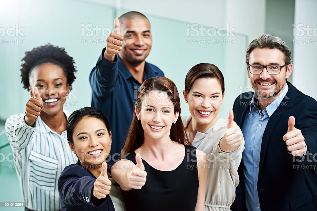 Stay positive, work hard and make it happen stock photo