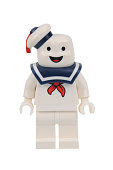 Stay Puft Ghostbusters Lego Minifigure