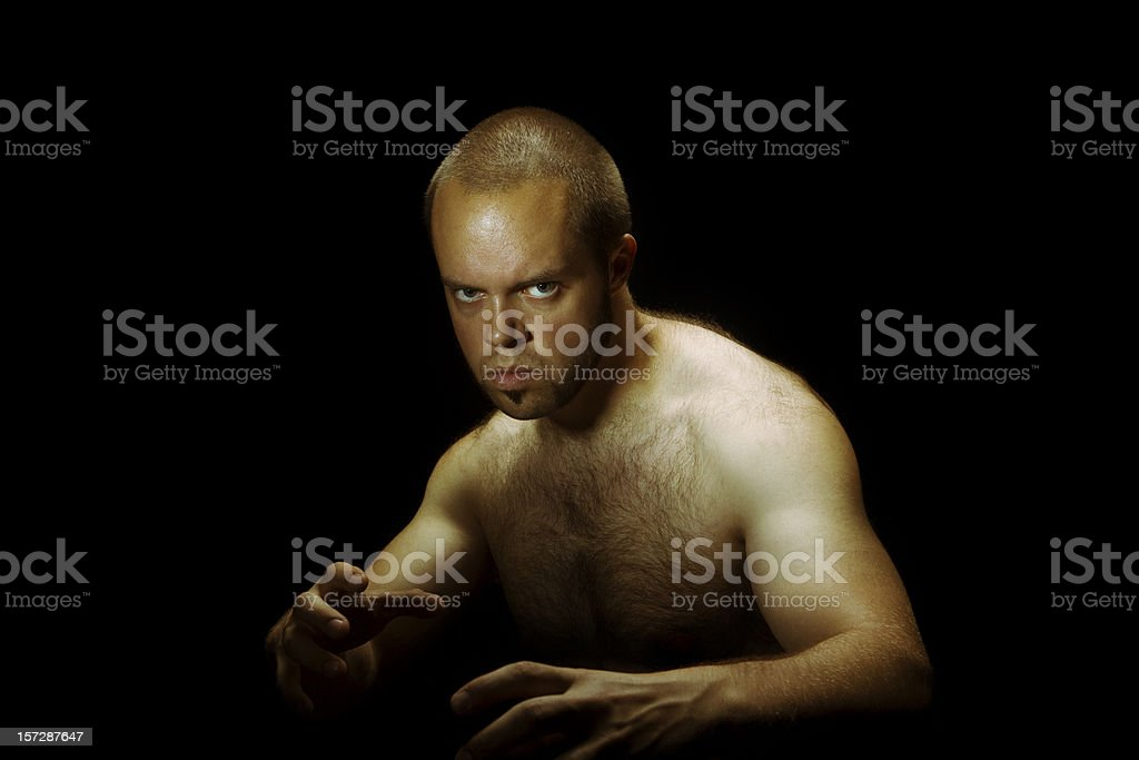 Stay Ready. stock photo