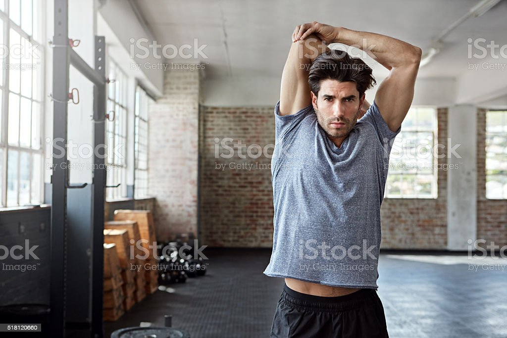 Stay supple, stay healthy stock photo