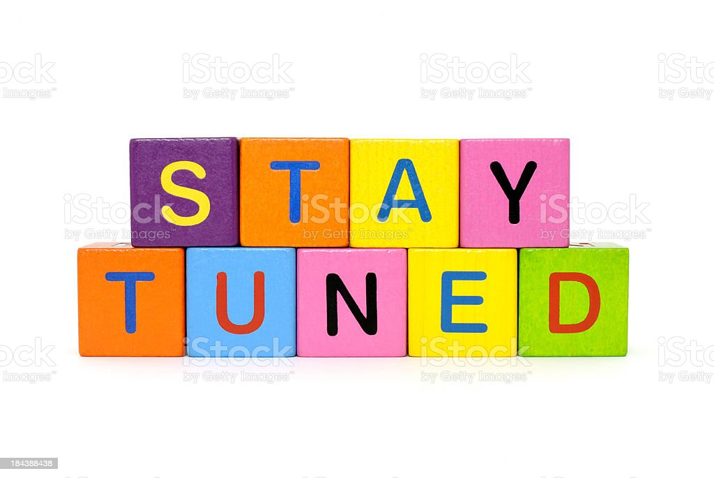 stay tuned stock photo