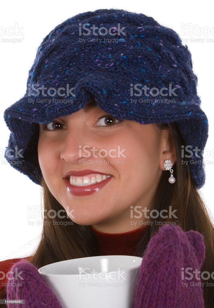 Stay warm stock photo