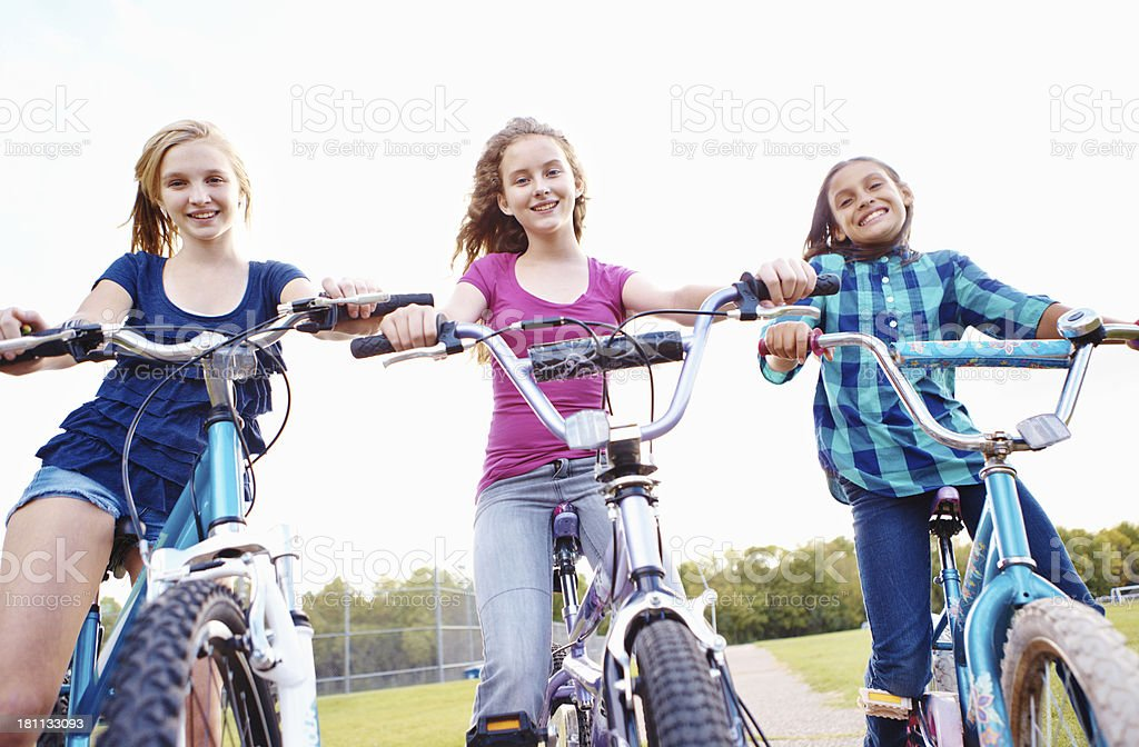 Staying active and healthy! royalty-free stock photo
