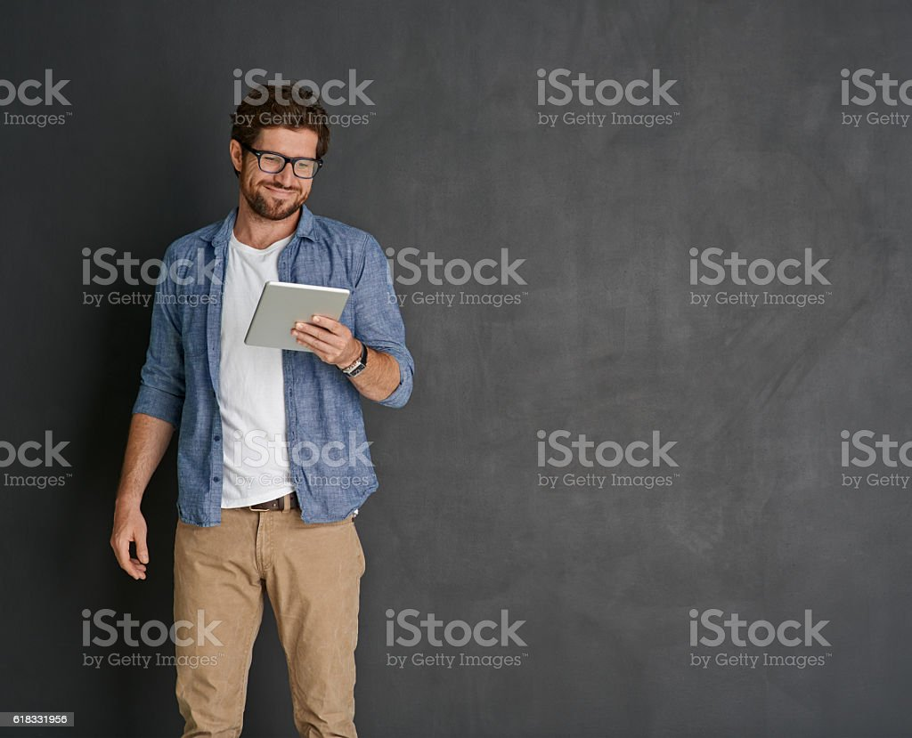 Staying connected stock photo