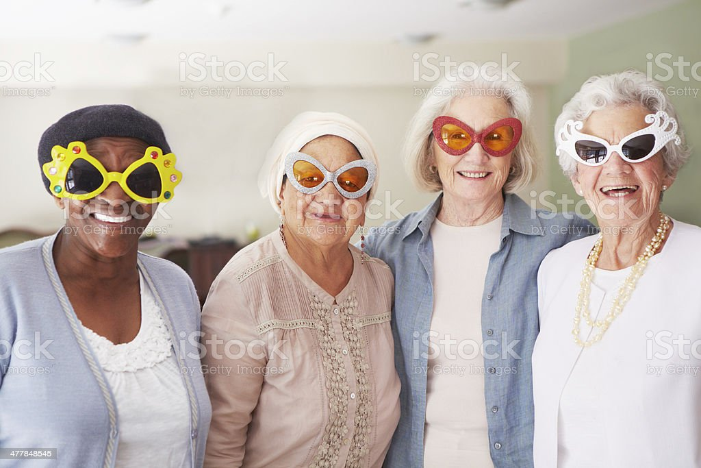 Staying cool through the ages royalty-free stock photo