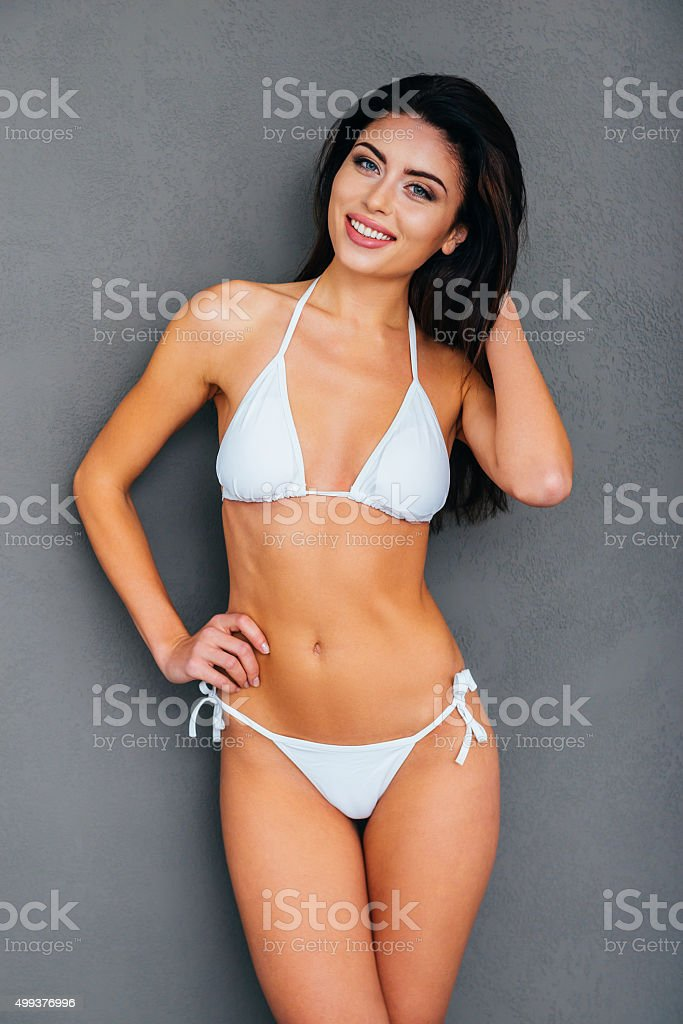 Staying fit and beautiful. stock photo