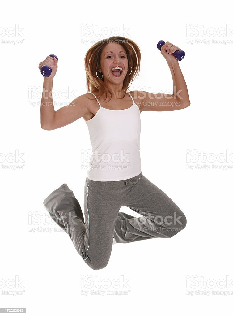 Staying Fit royalty-free stock photo