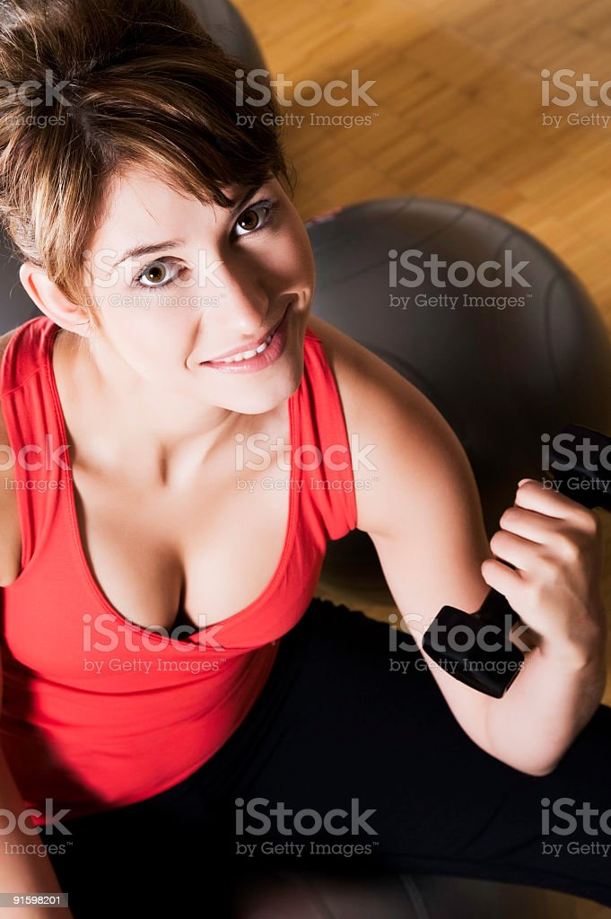 Staying Fit stock photo
