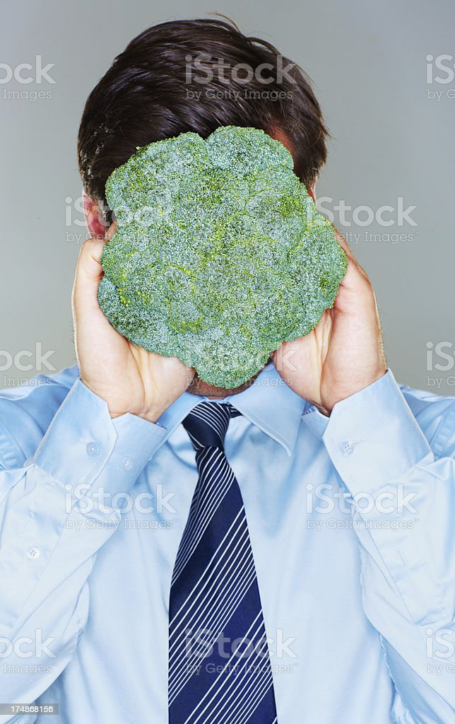 Staying healthy for work! royalty-free stock photo