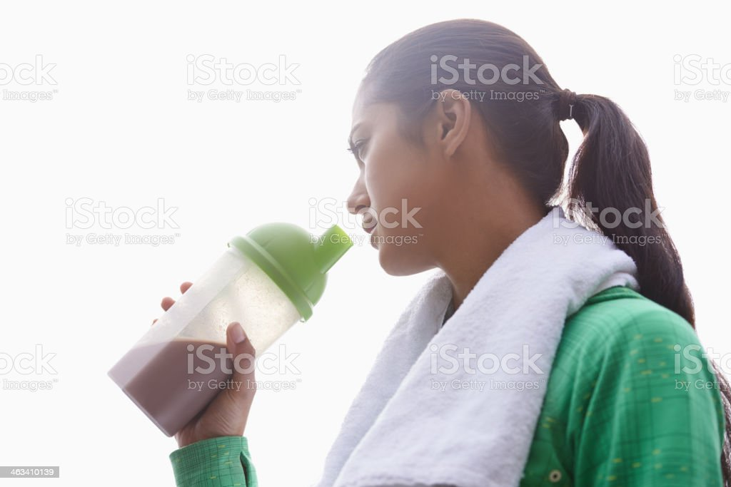 Staying healthy stock photo