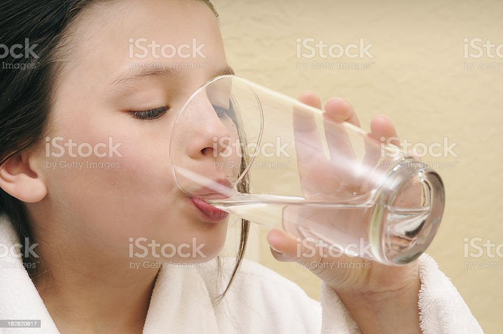 Staying Hydrated royalty-free stock photo