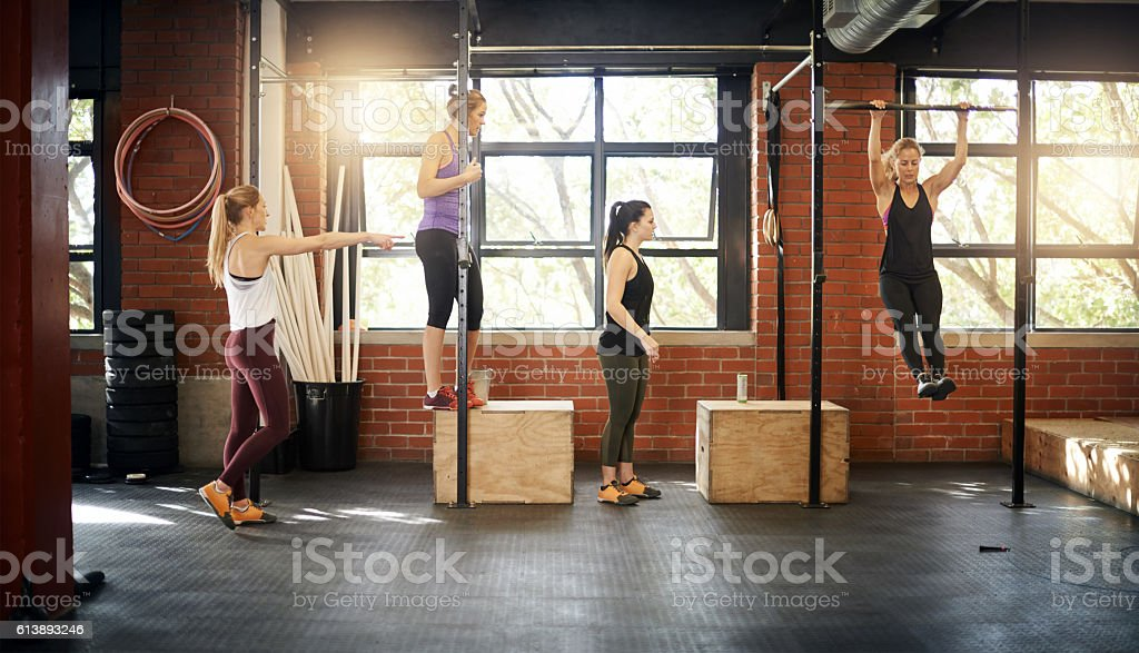 Staying on course to fitness stock photo