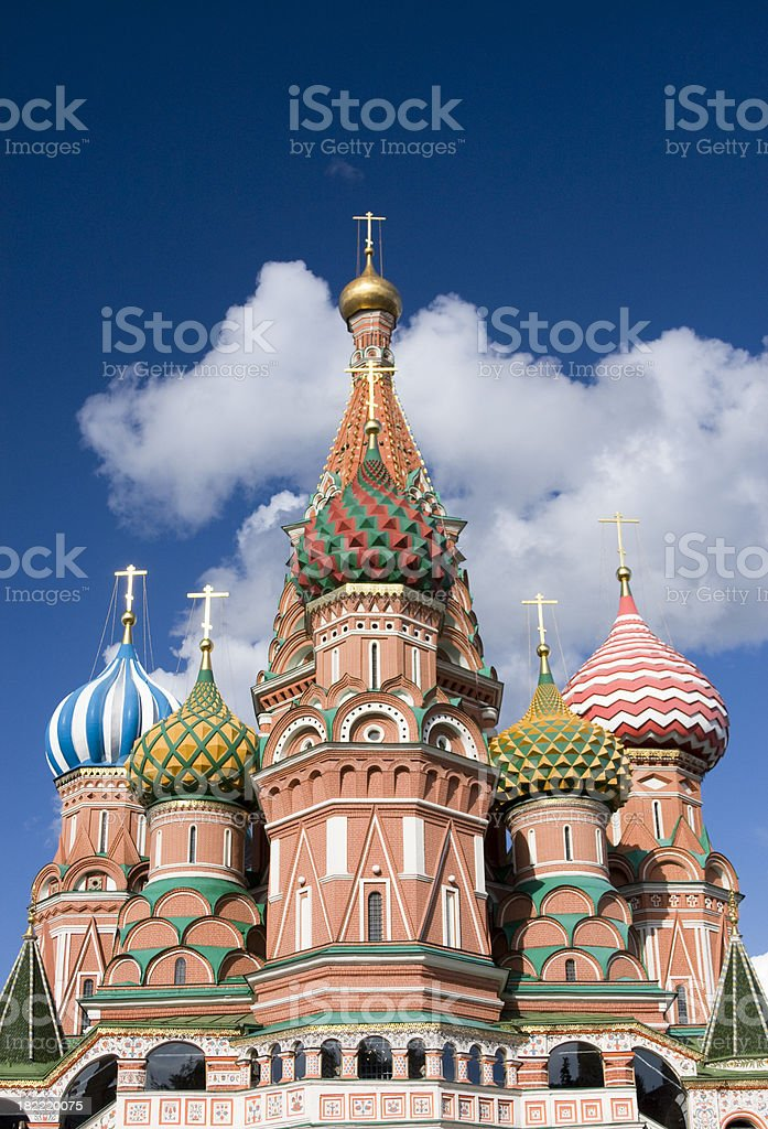 St.Basil Cathedral royalty-free stock photo