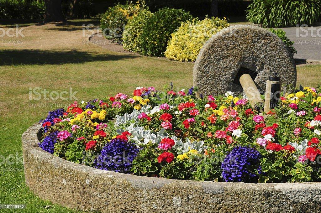 St.Clement gardens, Jersey,U.K. stock photo