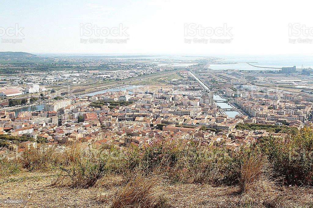 Sète, Linguadoca-Rossiglione Francia foto stock royalty-free