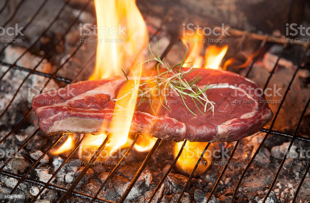 Steak barbacue stock photo