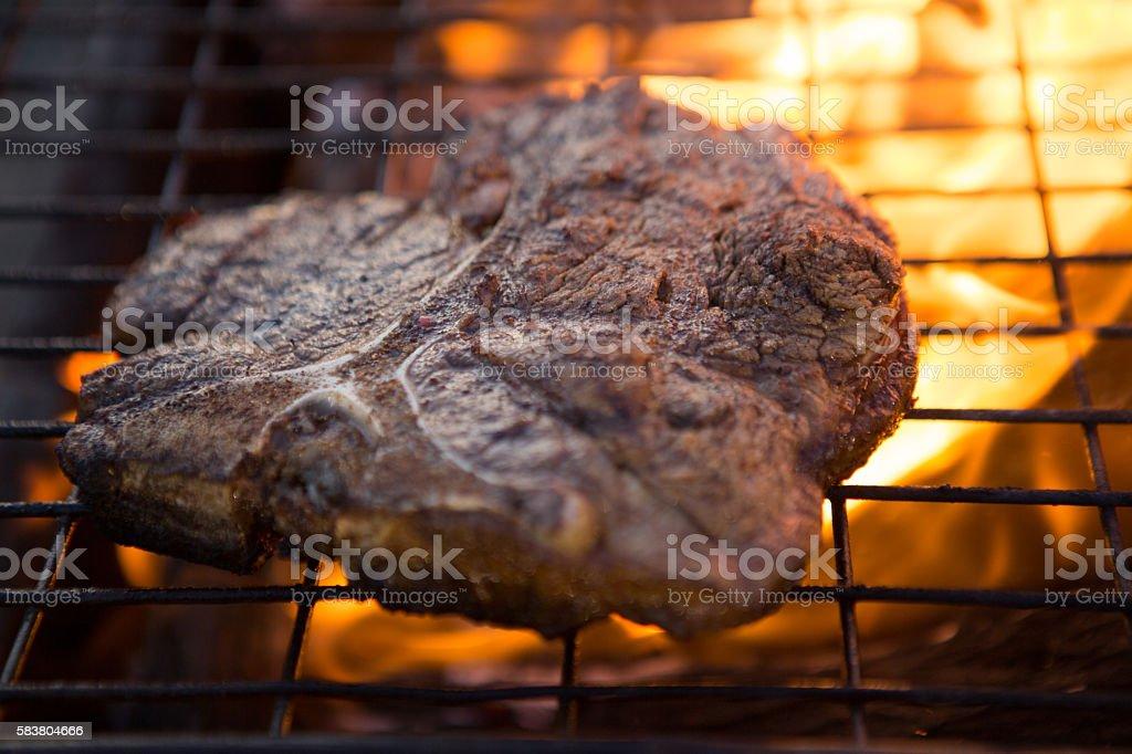 Steak Bbq stock photo