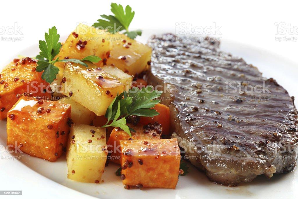 Steak Dinner stock photo