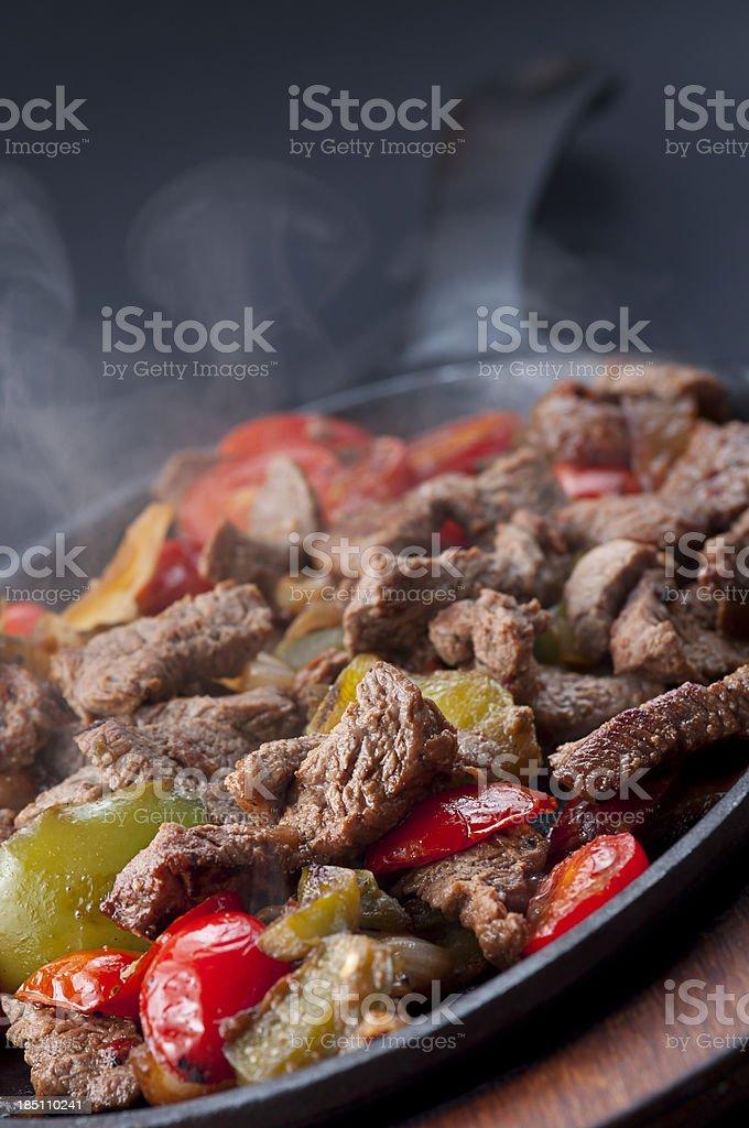 Steak Fajita stock photo