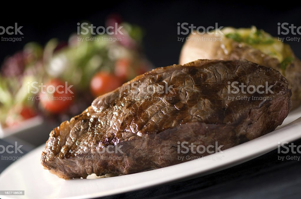Steak house stock photo