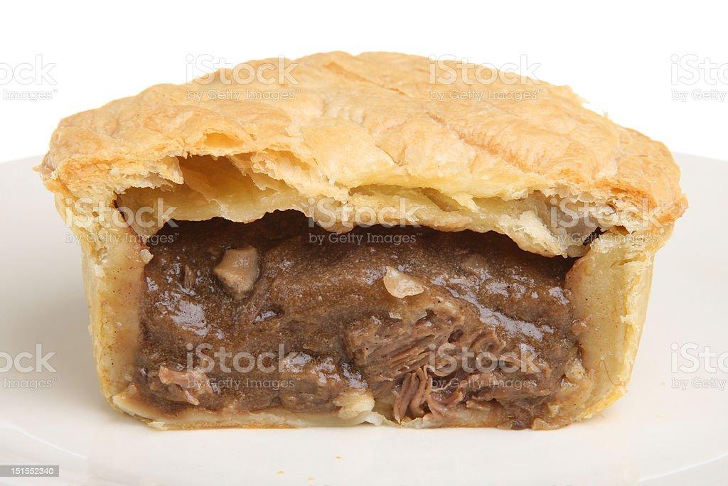 Steak & Kidney Pie stock photo