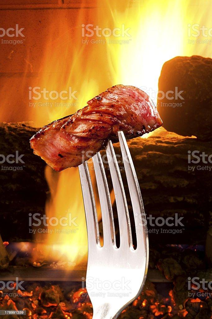 Steak. royalty-free stock photo