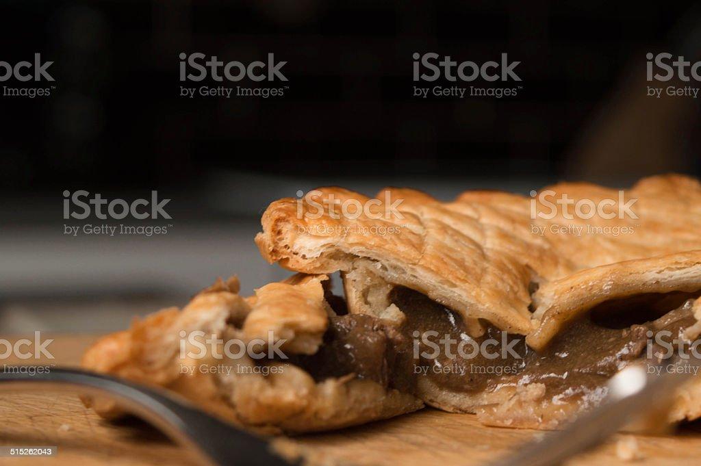 Steak Pie stock photo