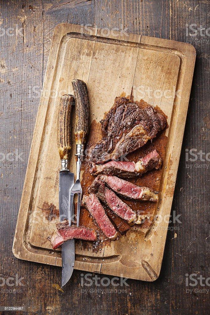 Ribeye-steak – Foto