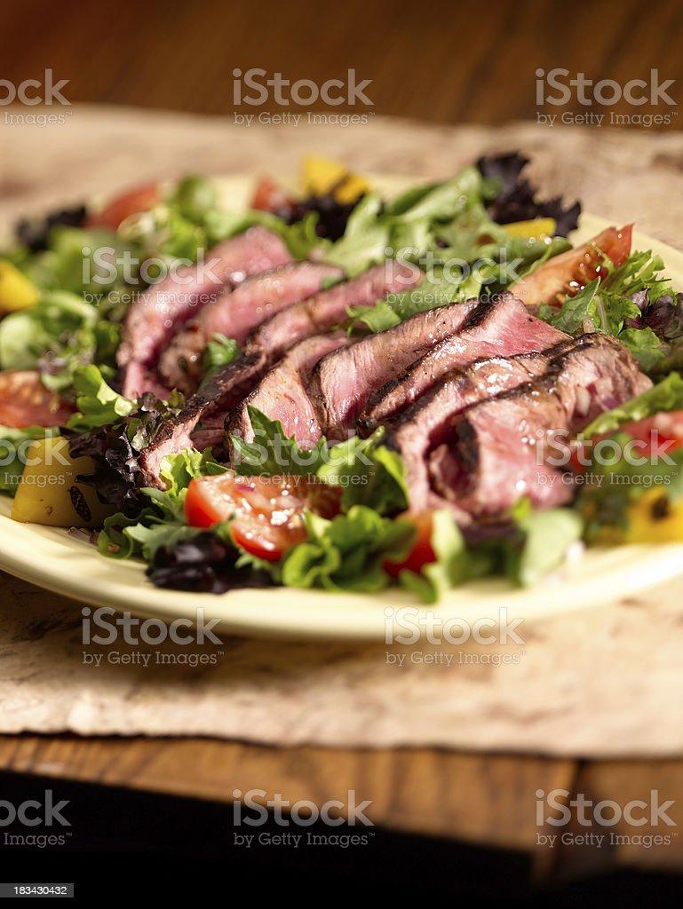 Steak Salad stock photo