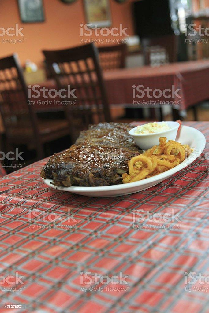 Steak set royalty-free stock photo