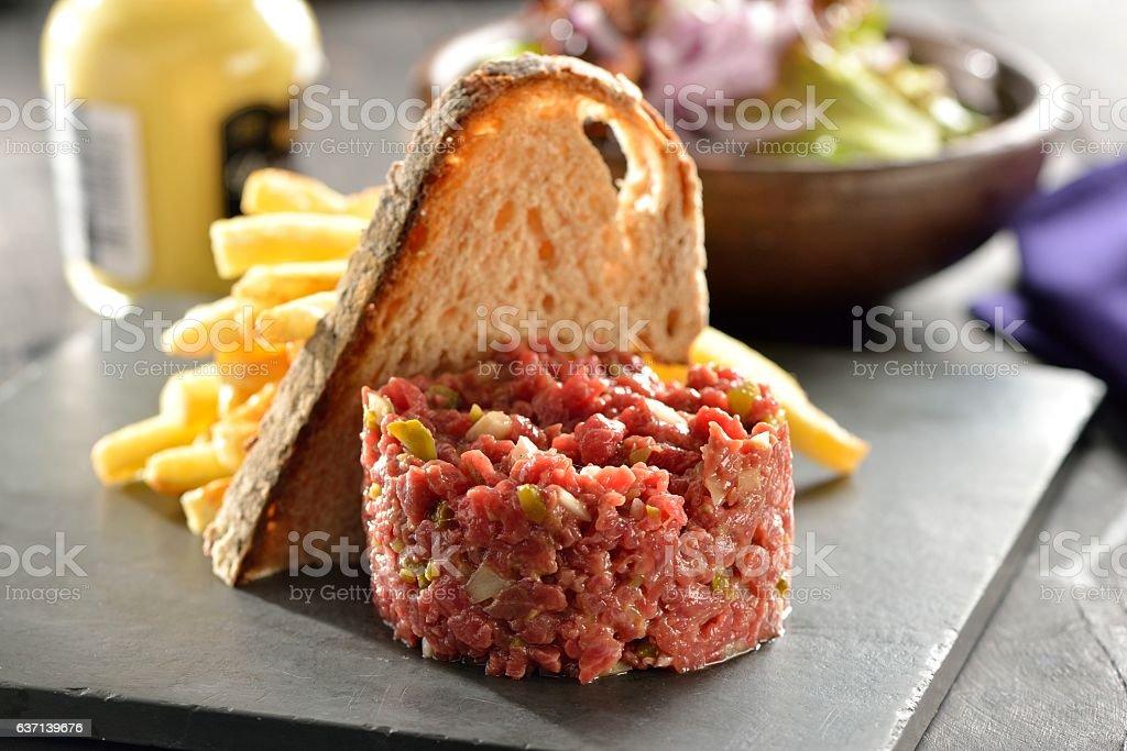 Steak Tartar stock photo