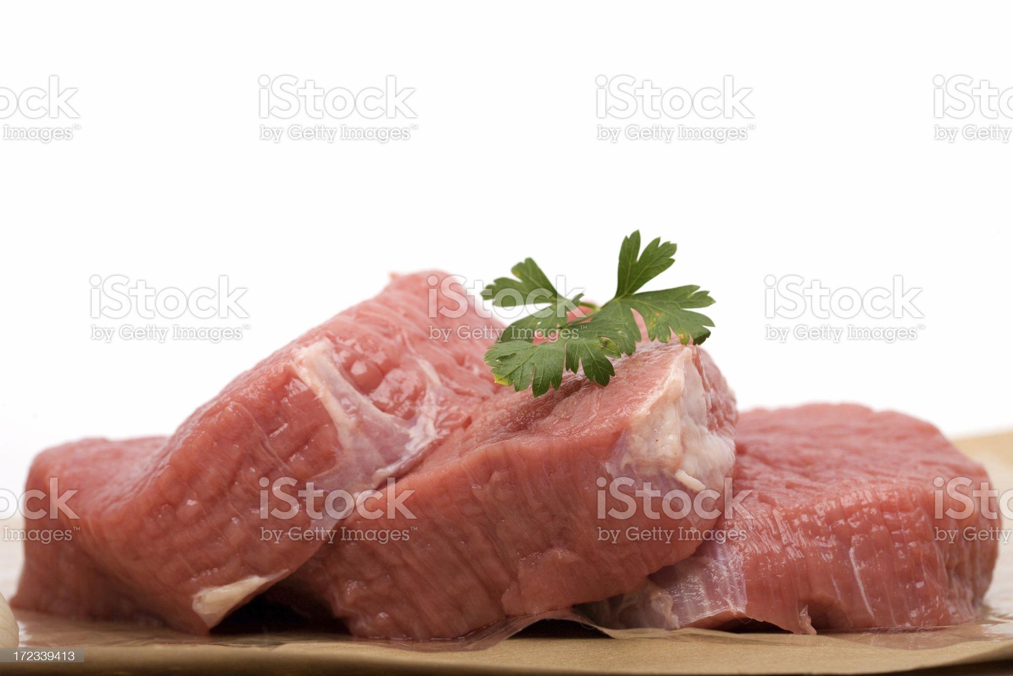 Steaks royalty-free stock photo
