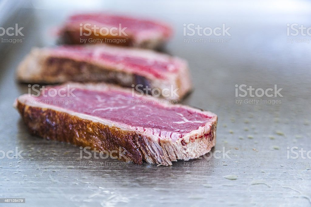 Steaks royalty-free stock photo