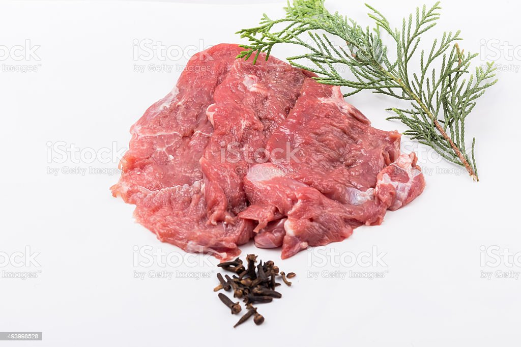 Steaks stock photo