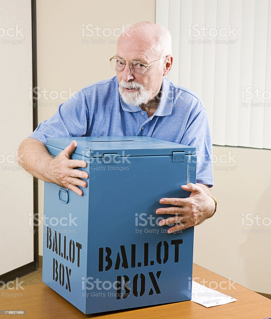 Stealing the Election royalty-free stock photo