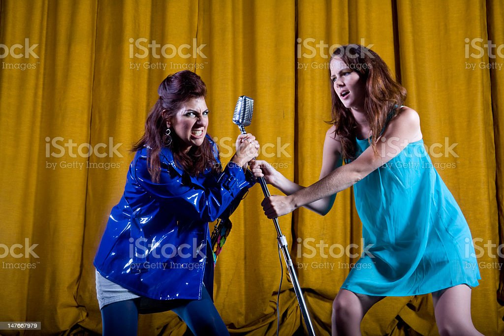 Stealing the Show stock photo