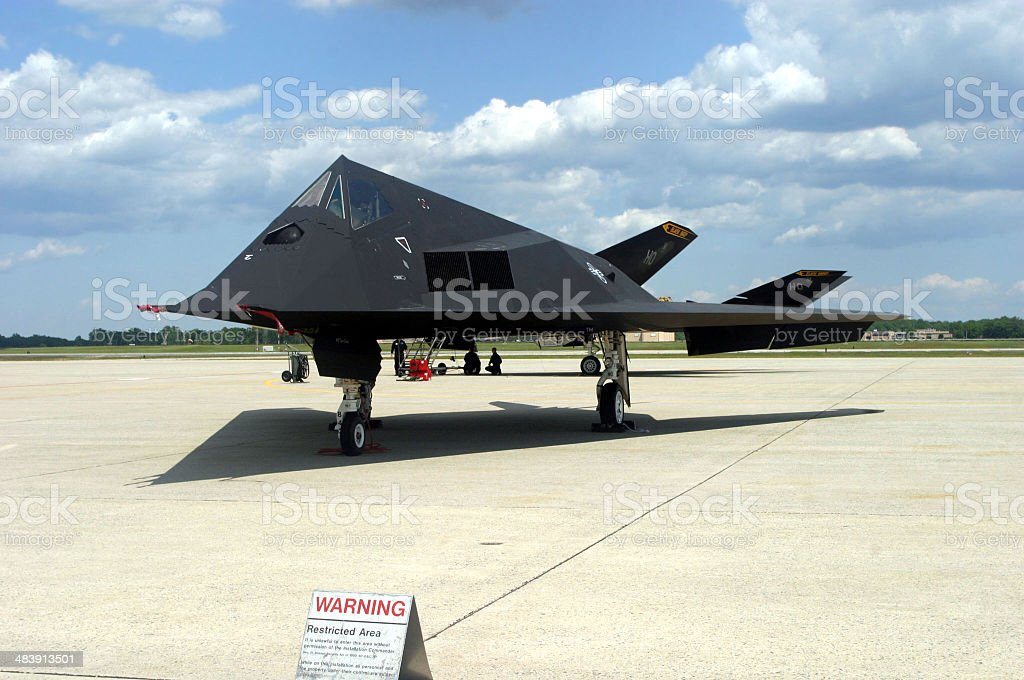 Stealth Bombers royalty-free stock photo