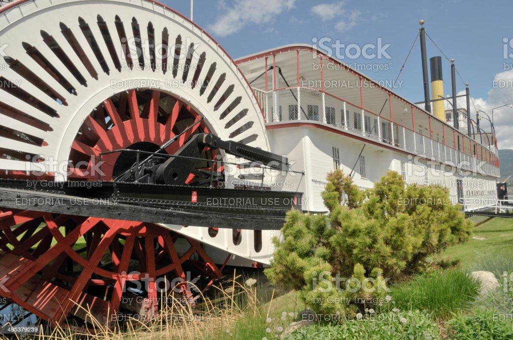 Steam Boat stock photo